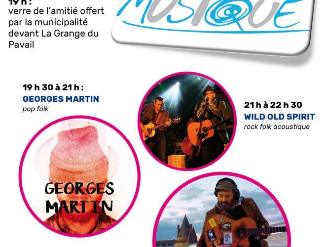 La fête de la Musique à St Aubin du Pavail